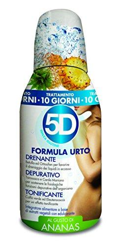 BENEFIT 5D DEPURADREN URTO ANANAS 300 ml. integratore alimentare