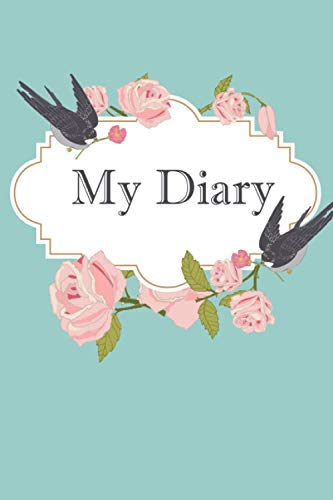 My Diary: Save The Moment, Pretty High Premium Colorful Rose Dotted Pages Diary to Save Your Moments and Important Dates , a Beautiful Diary for Gilrs ... Flower Lovers Too , Stylish & Elegant Design