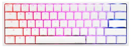 Ducky One 2 Mini Pure White Mechanical Keyboard