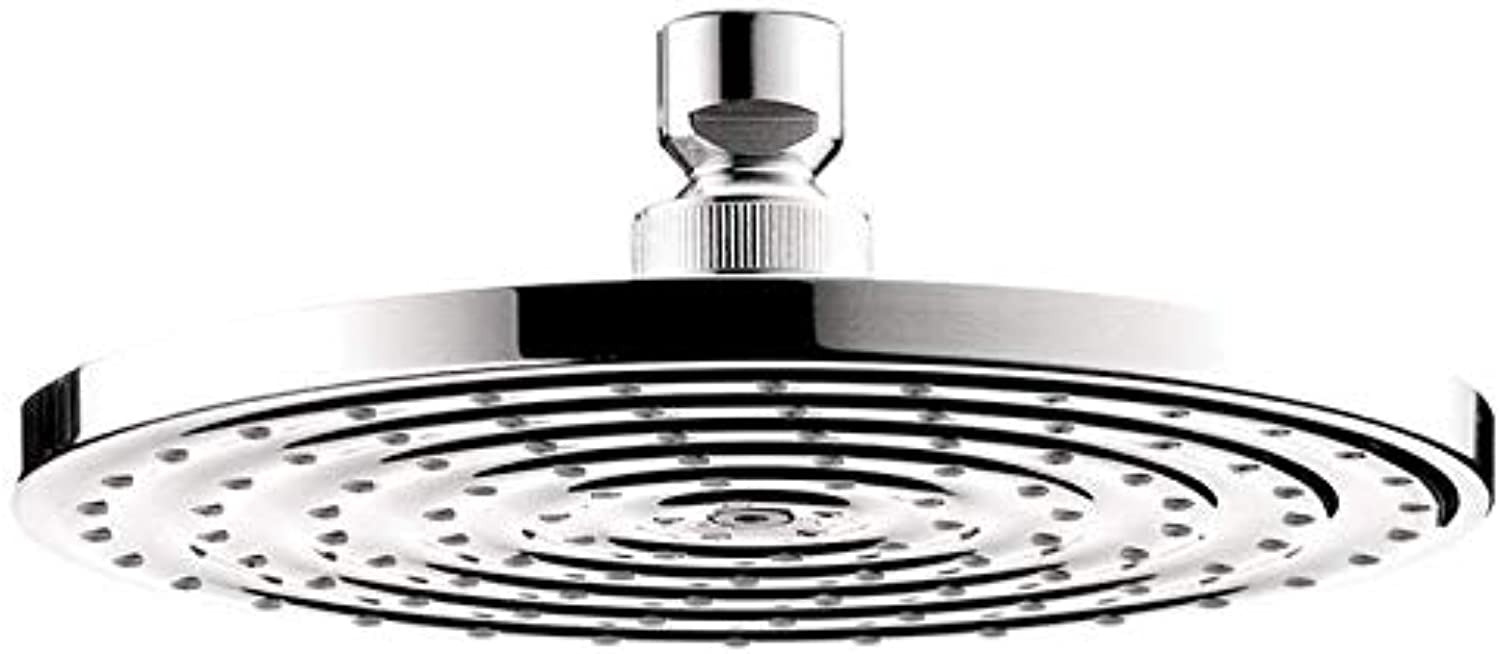 Hansgrohe 27476001 Raindance 180 Air Shower Head, 7-Inch, Chrome
