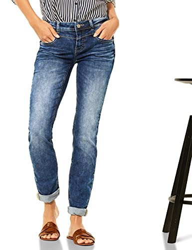 Street One Damen Jane 30 Jeans, Authentic Indigo wash, W33/L32