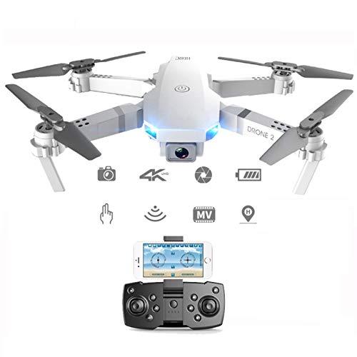 OYZK Drone 4K HD Cámara HD Profesional por AÉREA Poder Helicopter 360 Grado Flip WiFi Tiempo Real Transmisión Quadcopter (Color : 1080P Silver Bag 3B)
