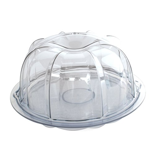Nordic Ware Deluxe Bundt Cake Keeper, Clear