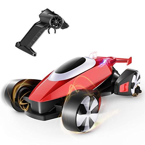 tech rc Mini Coche Teledirigido,Coche RC Recargable con 16-20 Km/h Alta Velocidad, 160 ° Gira, Coche de Deriva de Dontrol Remoto en 2 Modos de conducción,Buen Regalo para Niños