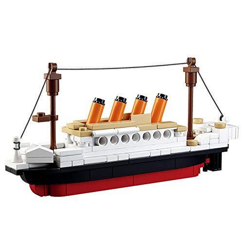 SuSenGo Mini Titanic Building Block Set for Kids