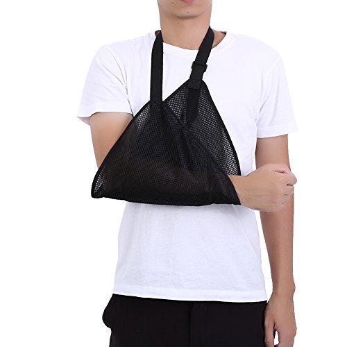 Ademende mesh-armbanden voor luxe en opbergen, pols, elleboogbandage, schouder, immobilizer, rotator cuff ondersteuning, schouder met verstelbare, mannen en vrouwen