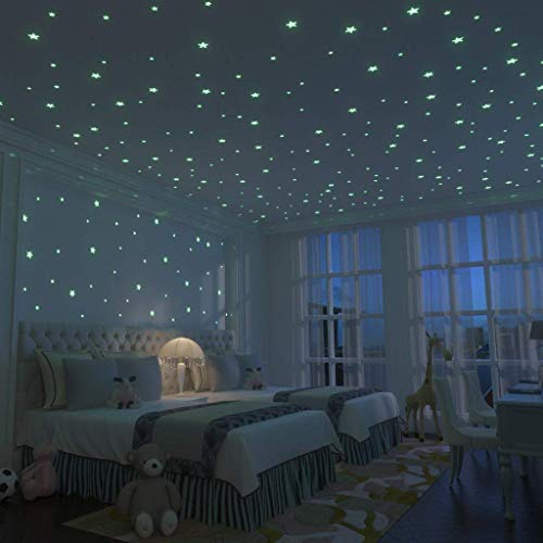 Glow Stars Supernova: 200 of the Brightest Glow in the Dark Stars | Boxed Set with Adhesive Putty, Mesh Pouch & FREE Constellation Guide | Glow In The Dark Ceiling Star Stickers For Bedrooms