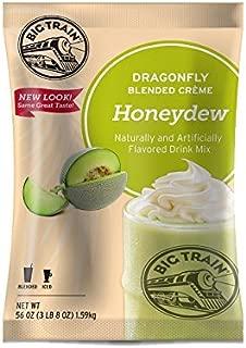 Big Train Dragonfly Blended Crème Frappe Mix Honeydew 3.5 Pound Bag