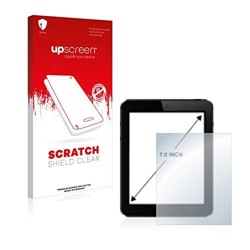 upscreen Schutzfolie für 7 Zoll Navigation (154.8 x 87 mm, 16:9) – Kristallklar, Kratzschutz, Anti-Fingerprint