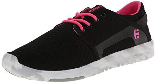 Etnies Etnies Damen Scout Sneaker, Black/Pink/White, 35 EU