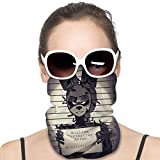 UV Protection Face Masks, Men Women Dust Proof Breathable Neck Gaiter, Springtrap FNAF Fanart Sweatband Neck Scarves for Cycling Camping