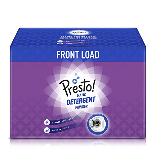 Amazon Brand - Presto! Matic Front Load Detergent Powder - 6 kg