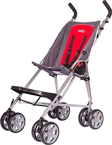 MobiQuip Elise Pushchair Budget XL, Special Needs Buggy, Disability Pushchair for Older Child, Large Pushchair, Red