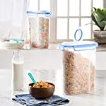 Extra-Large-Cereal-Containers-Storage-Set-2pk168oz-21cup-Airtight-Silicone-Sealed-Locking-Lids-Maintains-Freshness-Space-Saving-Cereal-Container-Food-Storage-Containers-For-Flour-Sugar-Rice-Etc