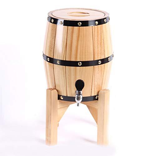 Vertikale Eiche Weinfass Bierfass Holzfass Haushalt Weinfass Weinfass Dekoration Weinfass (Color : #3, Size : 5L)