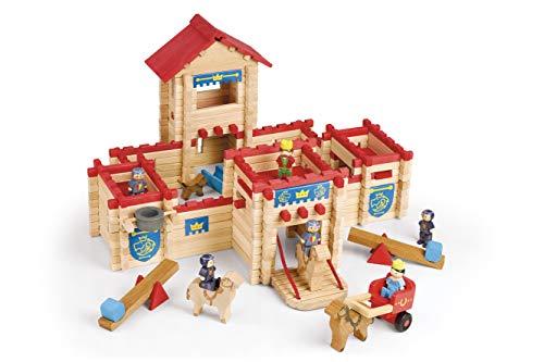 Jeujura - 8026- Jeux de Construction-Le Château Fort - 300 Pieces
