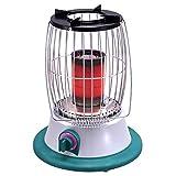 DJLOOKK Calentador de Patio Exterior Premium, lámpara de Calor portátil de Acero Inoxidable con válvula Reductora de presión y Manguera, Estufa de calefacción,Liquefied Gas