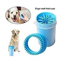 犬 足洗い ブラシカップ ペット 愛犬のお散歩帰りのかんたん足洗い 足用クリーナー