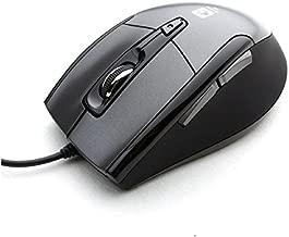 Noiseless USB Optical Gaming Computer Wheel Mouse 1600 DPI Super Quiet JNL-101K Black Silent