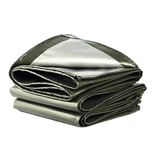 LHR Tarpaulin Waterproof Heavy Duty Waterproof Anti-mold And Anti-corrosion, Used For Car Ship Garden Roof Cover Cloth Outdoor Tourism Tarpaulin (Size : 2x3m)