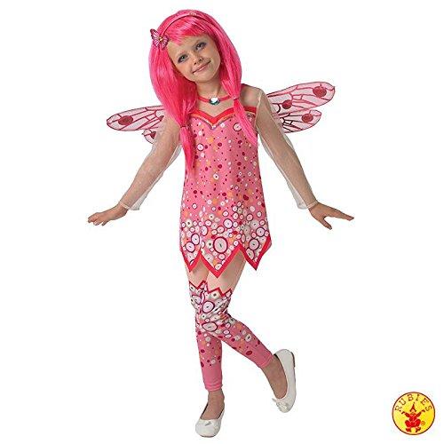 Mia and Me - Disfraz de nia rosa para disfraz de hadas y elfo para nios