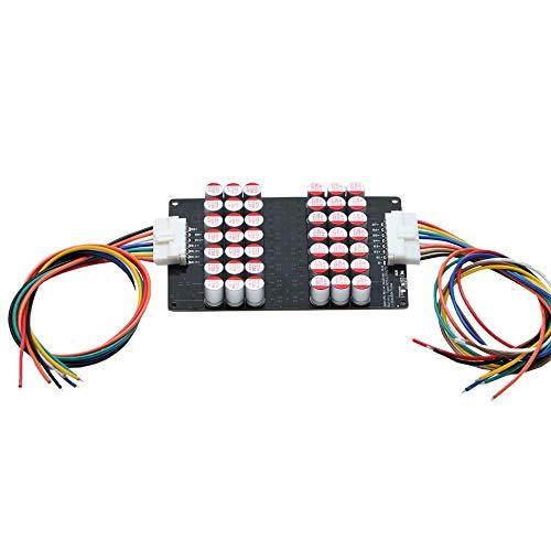 Mogzank Balanceador Universal de Celdas de BateríA 3S-14 5A para Ecualizador Activo de BateríA Li-Ion LTO LFP