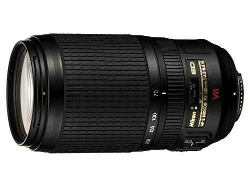 Nikon 70-300 mm f/4, 5.6G Auto Focus Zoom Lens for Nikon DSLR Cameras,...