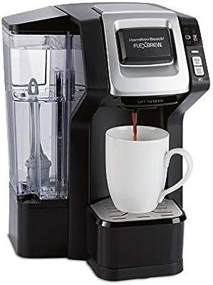 Hamilton Beach 49968 FlexBrew Connected Single Cup Coffee Maker with Amazon Dash Auto Replenishment for Coffee Pods