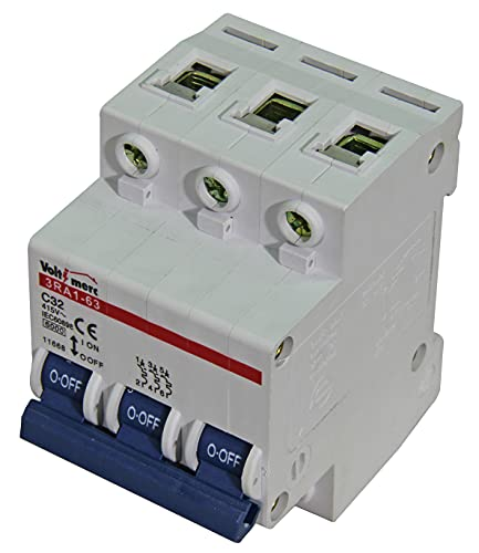 Voltimerc Interruptor Magnetotérmico 3 Polos 32A 6KA