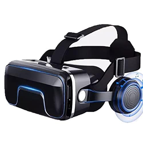 CYLZRCl Gafas 3D Realidad Virtual VR Caja VR Casco Auriculares con Gafas 3D Gafas Inteligentes para Teléfono Inteligente Estéreo (Color : 3)