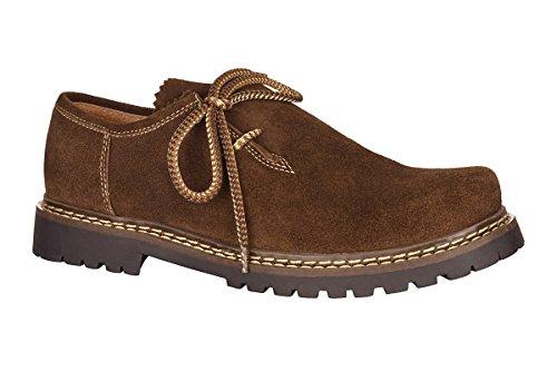 MADDOX Trachten Herren Schuh - JULIAN - braun, Größe 47