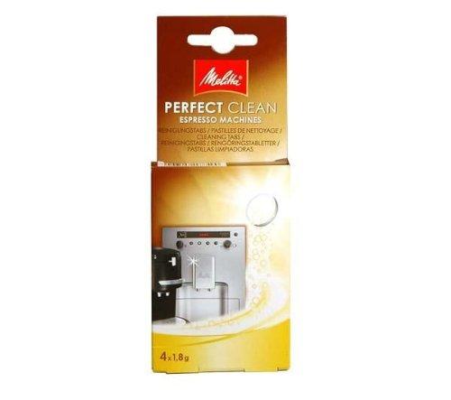 Melitta Reinigungstabs für Kaffeeautomaten oder Pad-Maschinen - 4 x 1,8 g
