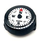 KanPas Mini Luminous Button Compass for Watch Band Lanyard (A-25)