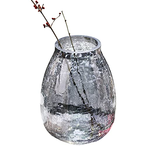 CHENYI Flower Vases Thickened Noble Vase Light Luxury Flower Vase for Home Decor, Wedding or Gift