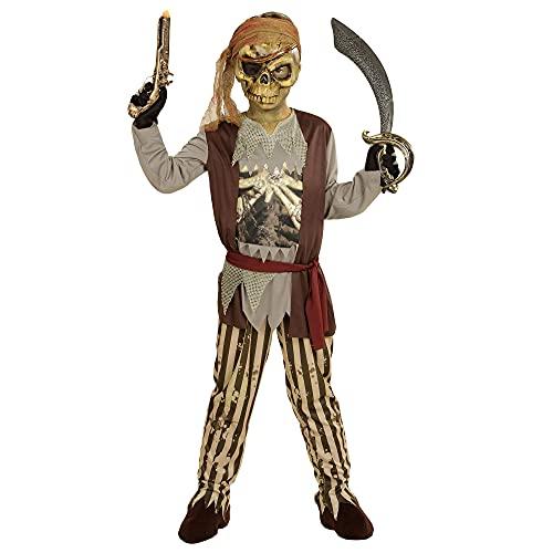 WIDMANN wdm03978?Disfraz para nios Pirata de Barco Fantasma (158cm/11?13aos), marrn, S
