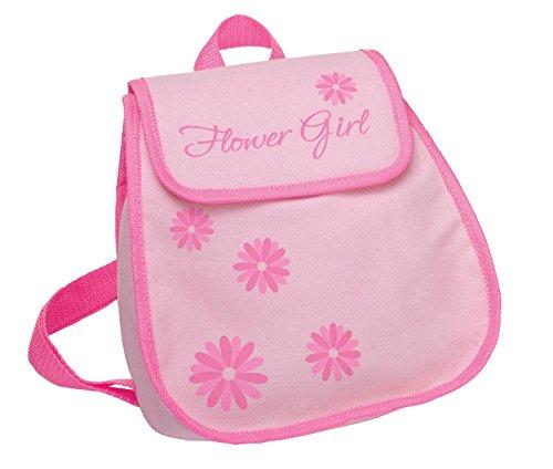 Lillian Rose Flower Girl Backpack, 9-inch by 10-inch