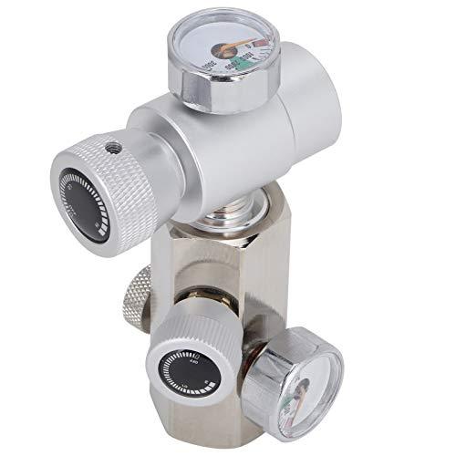 Adaptador de recarga de cilindro de Co2, W21.8-G1 / 2 Kit de conector de recarga de adaptador de botella de refresco de latón para el hogar con una válvula de alivio de presión fácil de desmontar