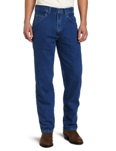 Wrangler Men's Big Rugged Wear Stretch   Jean,Stonewashed,50x28