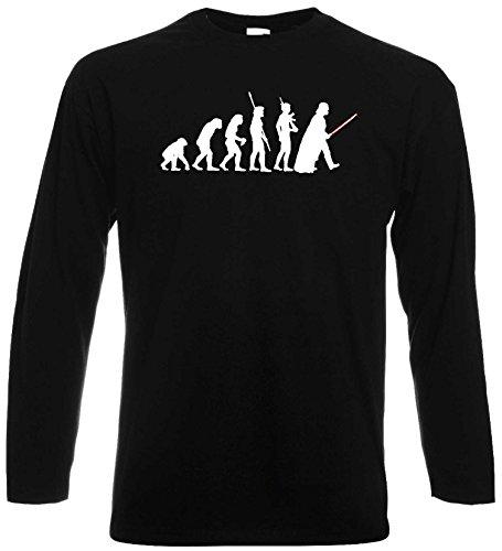 Star Wars Unisex Longsleeve T-Shirt Evolution Darth Vader ShirtXXL