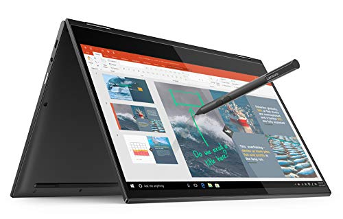 "Lenovo Yoga C630 - Portátil Convertible 13.3"" FullHD - (Qualcomm Snapdragon 850, 8GB RAM, 256GB SSD, Integrated Qualcomm Adreno 630 Graphics, Windows 10 Home en modo S), Gris - Teclado QWERTY Español"
