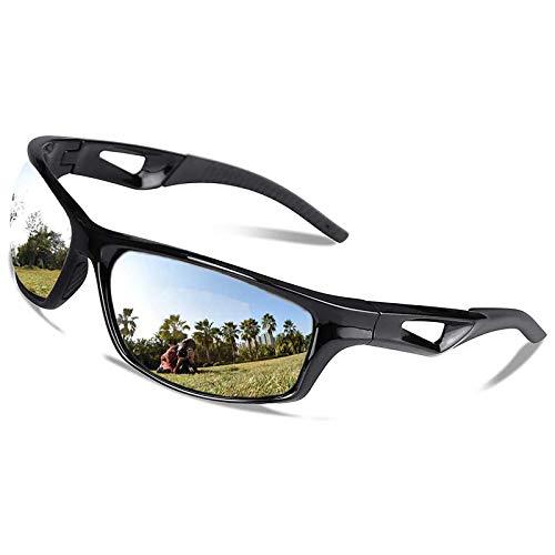 V VILISUN Polarized Sports Sunglasses UV400 Protection & TR90 Superlight...