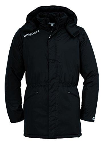 uhlsport Herren Jacke Essential Winter Bench, Schwarz, XXL