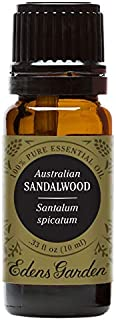 Edens Garden Sandalwood Australian Essential Oil, 100% Pure Therapeutic Grade (Highest Quality Aromatherapy Oils- Congestion & Skin Care), 10 ml