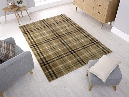 - LordofRugs - Alfombra de tela escocesa clásica Highland con diseño