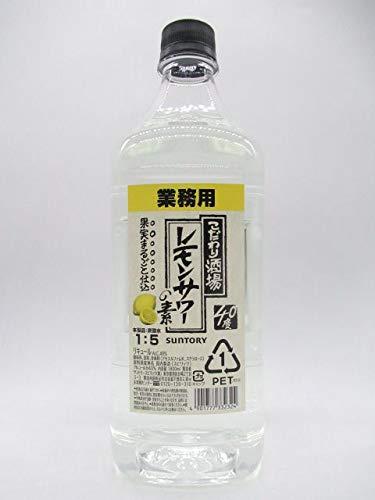 『サントリー こだわり酒場のレモンサワーの素 業務用 コンク 40度 1800ml [並行輸入品]』の1枚目の画像