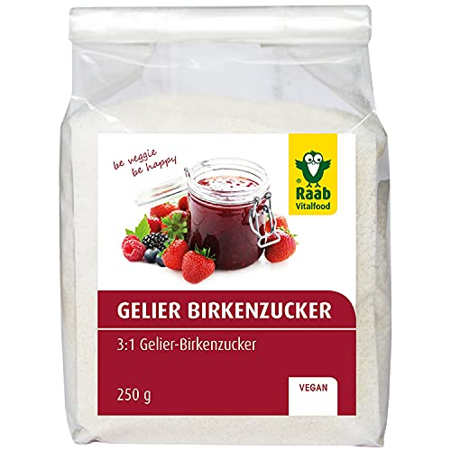 Raab Vitalfood -   Birken-Gelierzucker