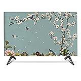 Cubierta de Tv 19 A 65 Pulgadas Impermeable Al Aire Libre, Tv Cubiertas de Tv Aprobación de Polvo Aire de Polvo, Media Paquete de Paquetes, Protección Completa de Tv, Soport(Size:40-43in/W100CMxH59CM)