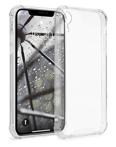 MyGadget Funda Protectora en Silicona TPU para Apple iPhone XR - Case Resistente Antigolpes – Cover Dura y Protective - Cómoda y Ligera - Transparente