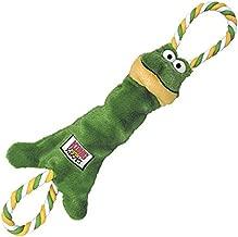 KONG Tugger Knots Frog Dog Toy