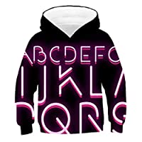oversize fall clothes hoodie for teen girls Boys Hoodies cooll etter digital animal hoodies Polyester 3d print 11T-5XL